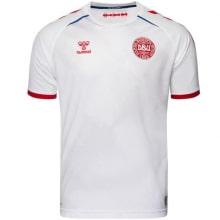 Гостевая футболка Дании на Чемпионат Европы 2020-21