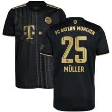 Гостевая футболка Баварии 2021-2022 Томас Мюллер