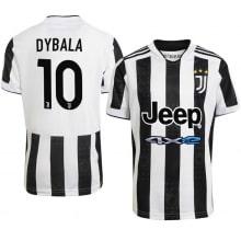 Детская домашняя футбольная форма Дибала 2021-2022 футболка