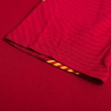 Красная тренировочная футболка Барселоны 2020-2021 рукав