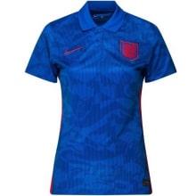Женская гостевая футболка сборной Англии на ЕВРО 2020-21