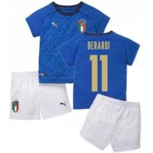 Детская домашняя форма Италии Берарди ЕВРО 2020-21