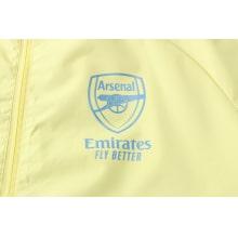 Сине-желтый костюм Арсенал по футболу 2021-2022 герб клуба