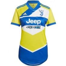 Женская третья футболка Ювентуса 2021-2022