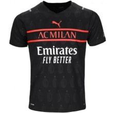 Третья аутентичная футболка Милана 2021-2022