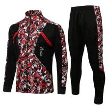 Красно-черный спортивный костюм Милан 2021-2022