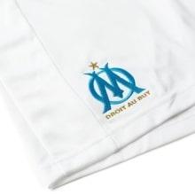 Шорты детской домашней формы Марселя 2018-2019 герб клуба