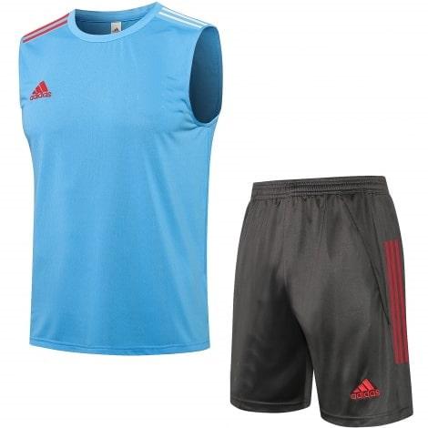 Серо-голубая тренировочная форма Реал-Мадрид 2021-2022