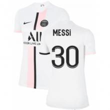 Женская гостевая футболка ПСЖ 2021-2022 МЕССИ