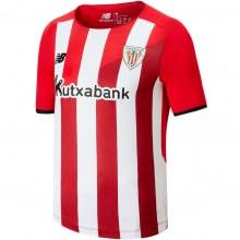Гостевая игровая футболка Атлетик Бильбао 2020-2021 воротнк сзади