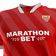 Гостевая игровая футболка Севилья 2020-2021