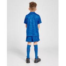 Детский комплект гостевой формы Англии на ЕВРО 2020-21 футболка шорты и гетры