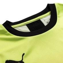 Детская третья форма Манчестер Сити 2019-2020 футболка воротник