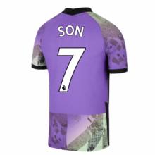 Третья игровая футболка Тоттенхэма 2021-2022 Сон Хын Мин