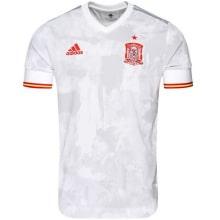 Женская гостевая футболка Атлетико Мадрид 2019-2020 воротник