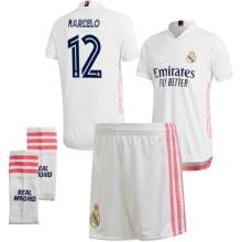 Детская домашняя футбольная форма Марсело 2020-2021