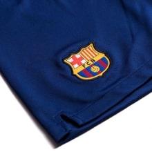 Детская домашняя форма Барселоны 19-20 c шорты герб клуба