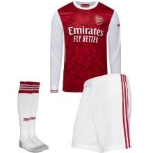 Домашняя форма Арсенала 2020-2021 c длинными рукавами