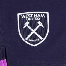 Комплект детской третьей формы Вест Хэм 2019-2020 шорты герб клуба