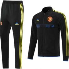 Черно-желтый костюм Манчестер Юнайтед 2021-2022
