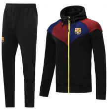 Черно-бордово-синий костюм Барселоны 2020-2021