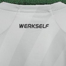 Третья игровая футболка Байер Леверкузен 2019-2020 воротник сзади
