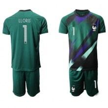 Зеленая форма сборной Франции LLORIS на ЕВРО 2020