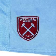 Комплект детской гостевой формы Вест Хэм 2020-2021 шорты герб клуба