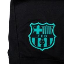 Комплект детской третьей формы Барселоны 2020-2021 шорты герб клуба