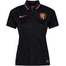Женская гостевая футболка Голландии на ЕВРО 2020-21
