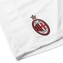 Детские гостевые шорты формы Милана 2018-2019 герб клуба