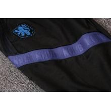 Черный костюм сборной Голландии по футболу 2020-2021 штаны