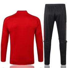 Красный спортивный костюм Бавария 2021-2022 сзади