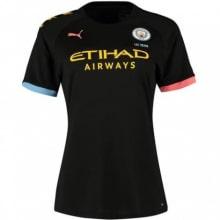 Женская гостевая футболка Манчестер Сити 2019-2020
