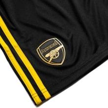 Комплект детской третьей формы Арсенала 2019-2020 шорты герб клуба