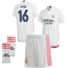 Детская домашняя футбольная форма Хамес Родригес 20-21