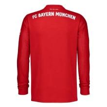 Домашняя форма Баварии с длинными рукавами 20-21 футболка сзади