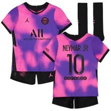 Детская четвертая футбольная форма Неймар 2020-2021