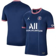 Домашняя аутентичная футболка ПСЖ 2021-2022