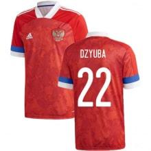 Домашняя футболка России Артем Дзюба ЕВРО 2020-2021