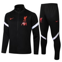 Черный спортивный костюм Ливерпуля 2021-2022