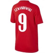 Детская гостевая форма Польши Эден Азар на ЕВРО 2020-21 футболка Левандовски