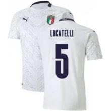 Гостевая футболка Италии Локателли на ЕВРО 2020-21