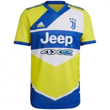 Третья аутентичная футболка Ювентуса 2021-2022