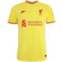 Комплект детской третьей формы Ливерпуля 2021-2022 футболка