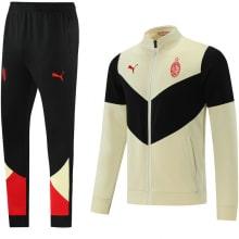 Черно-бежевый тренировочный костюм Милан 2021-2022