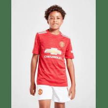 Детская домашняя форма Манчестер Юнайтед 2020-2021 на ребенке
