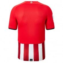 Домашняя игровая футболка Атлетик Бильбао 2021-2022 сзади