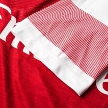 Домашняя футболка Арсенала Лукас Торрейра номер 11 2018-2019 рукав