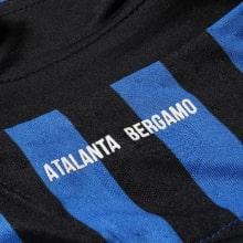 Комплект детской домашней формы Аталанта 2020-2021 футболка воротник сзади